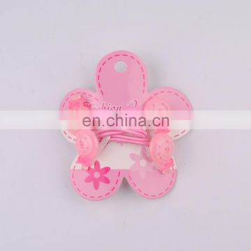 2015 fashion wholesale cheap hair clip and elastic band for kids