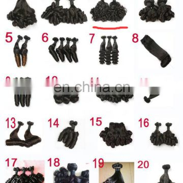 Hair extension remy human hair bulk