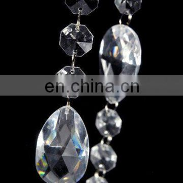 Acrylic Crystal Beaded Garland for Wedding Decoration and Event party