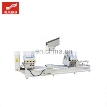 Twohead miter saw for sale four head aluminum window drilling machine door corner forming profile combining in low price