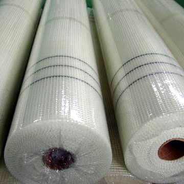 Temperature Resistance 145gr Fireproof Fibreglass Screen Mesh