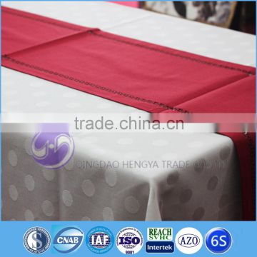 Christmas wholesale cheap laser die cut felt table runner