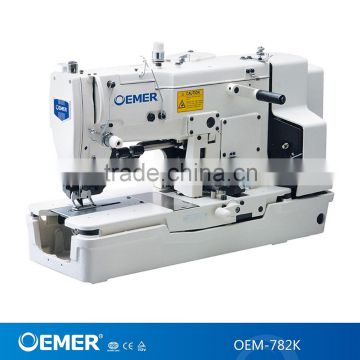 OEM40K High Speed Straight Button Holing Industrial Sewing Machine Enchanting Sewing Machine For Knit Fabric