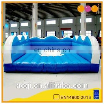 Hot sale weekend kids outdoor sport games inflatable surfing game for sale