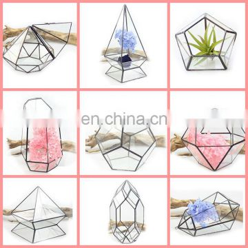 geometric terrarium geometric glass terrarium wholesale Lead-free