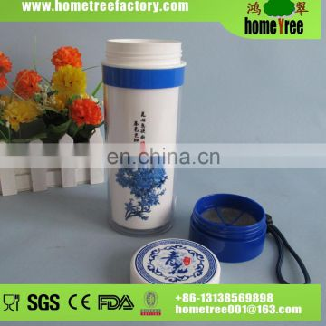 500ml Take-away Chinese Sytle Sport Tea Infuser Bottle