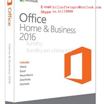 Office 2016 HS hb pro home and student 100% online activation product key