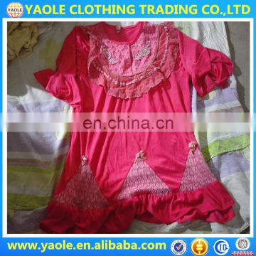 Second Hand Used Clothing silk night gown used clothing dubai