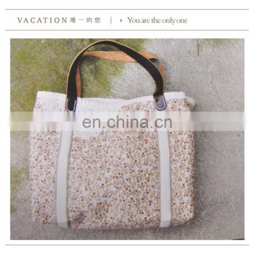 Girls style Guangzhou factory price cotton tote bag tarpaulin bag