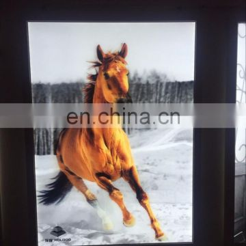Low Price Personalized New Arrival 3d lenticular light in the box From China Supplier Wholesale