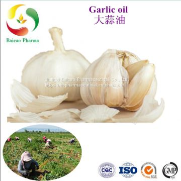 100% pure food grade pure garlic allicin oil, food flavour, animal feed & therapy, cosmetic