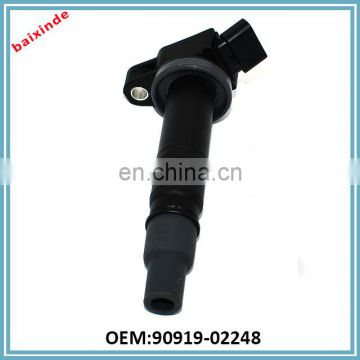 Made in Japan original quality generator auto parts ignition coil 90919-02248 1 Camary