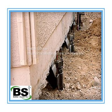 Foundation Repairs Concrete Helical Piers
