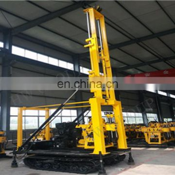 Diesel engine borehole water well drilling rig machine water drilling machine