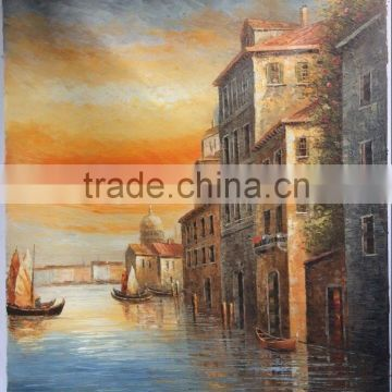 Venice Oil Painting on Canvas