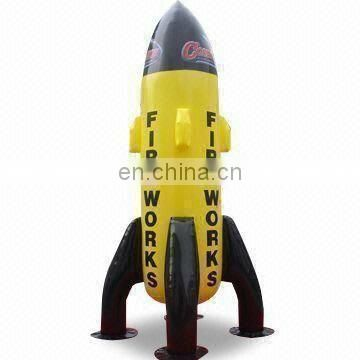 Advertising Inflatable rocket Toy