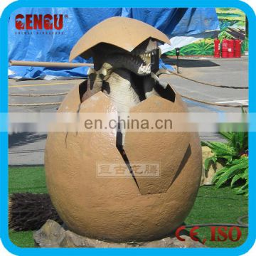 Attractive High Simulation Fiberglass Dinosaur Eggs Decorations