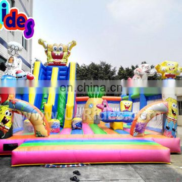 Naughty bouncing castle outdoor inflatable playground
