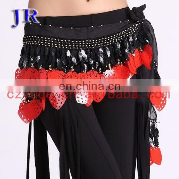 Special big sequins tassel performance belly dance belt scarf for women Y-2023#