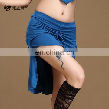 Q-6049 Modal short sexy belly dance skirt for stage performance