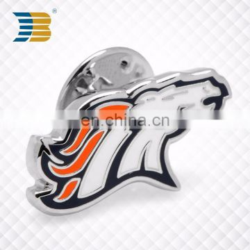 direct sell bulk enamel cheap wholesale custom die cast metal badge