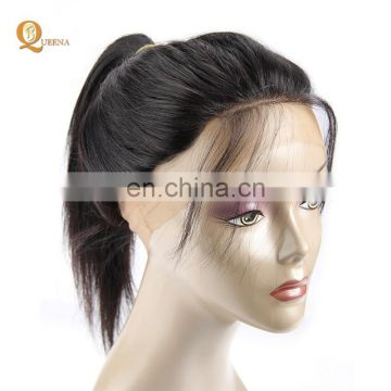 Top Quality Pre Plucked Lace Frontal Lace Wig Straight Peruvian Human Hair