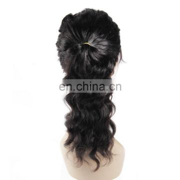 Aliexpress popular brazilian human hair lace front wigs for black women