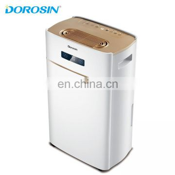220V/60Hz 20Liters 35pint portable hotel room dehumidifier for Philippines