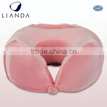 travel neck pillow for car,anti-static memory foam travel pillow
