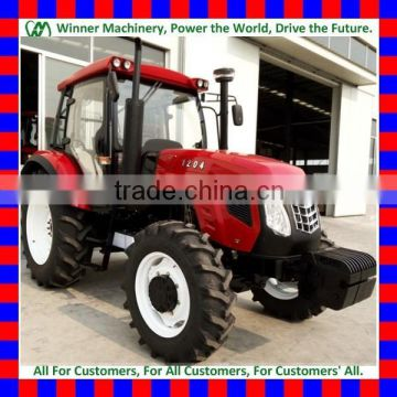 weifang cheap1000 and 1004, 2wd and 4wd 100HP multi-function farm/farming tractor wiht all kinds of farm implements