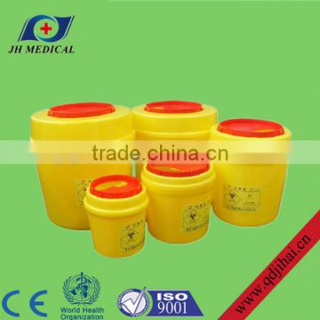 disposable medical sharps container / medical safety box
