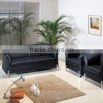 Simple leather sofa designs 1+1+3