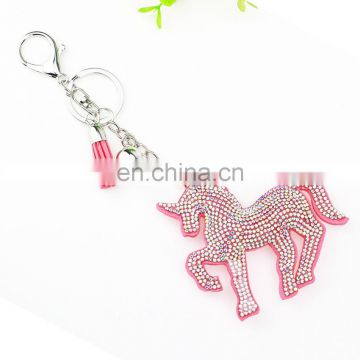 Bling bling unicorn keychain for gifts
