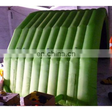 2014 new! inflatable mobile stage tent, green stage,