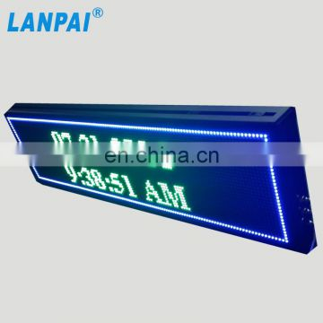 wall mounted high brightness customized size p8 led outdoor display