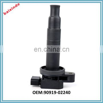 High Quality Auto Ignition Coil PackA Scion Camry Echo Prius Yaris 4 cyl 90919-02240 9091902240