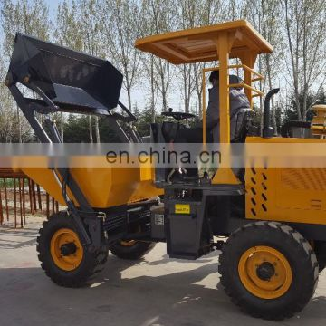 FCY30 4wd site dumper truck, 3tons load hydraulic tipping car