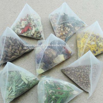 Automatic Triangle/ Pyramid Pouch Tea bag Filing Packing Machine
