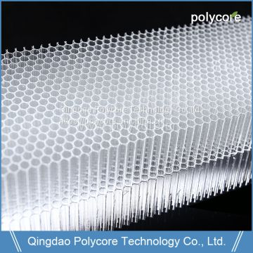 Fire Resistant and  Energy Absorption Polycore PC Honeycomb High Quality