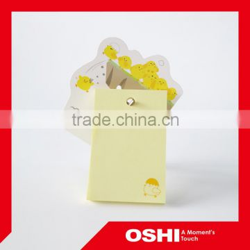 Custom Advertising Sticky Notes with Plastic hanging pad, decorative sticky notes, unique sticky note