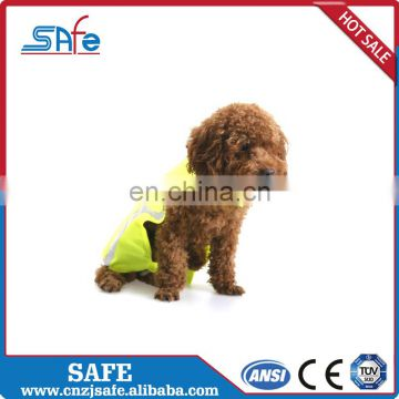 High visibility pink reflective service dog high visibility weight vest