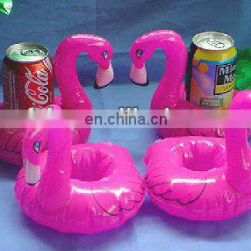 inflatable swan can holder