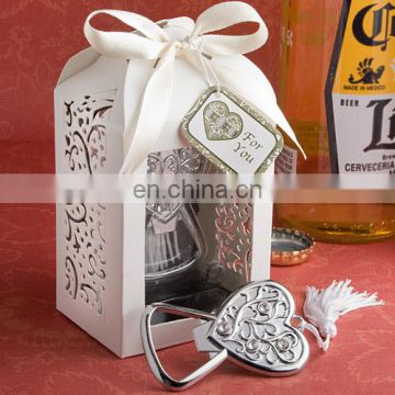 Heart Wedding Favor Bottle Opener