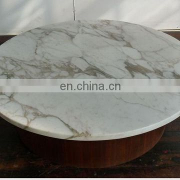 round marble slab table top