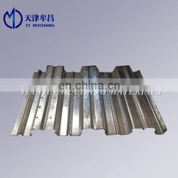 gauge corrugated galvanized steel floor decking sheet