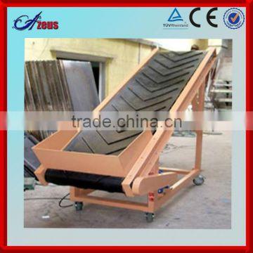 Portable vertical conveyor belt spiral vibrating conveyor belt conveyor  manufacturer