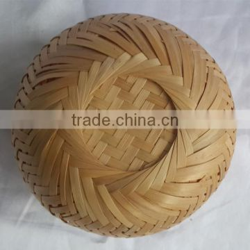 Funeral caskets and urns rattan basket made of bamboo banding