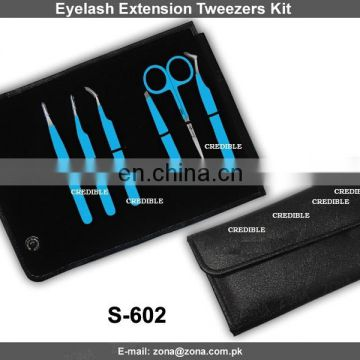 private label tweezers/eyelash tweezers/tweezers eyelash extension/