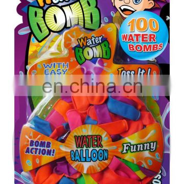 Fun kids party toy 100 water bombs balloons