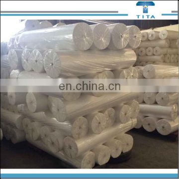 Hot selling raw white 35GSM pva material water dissolvable non woven paper for embroidery with width of 1.0-3.2m from China
